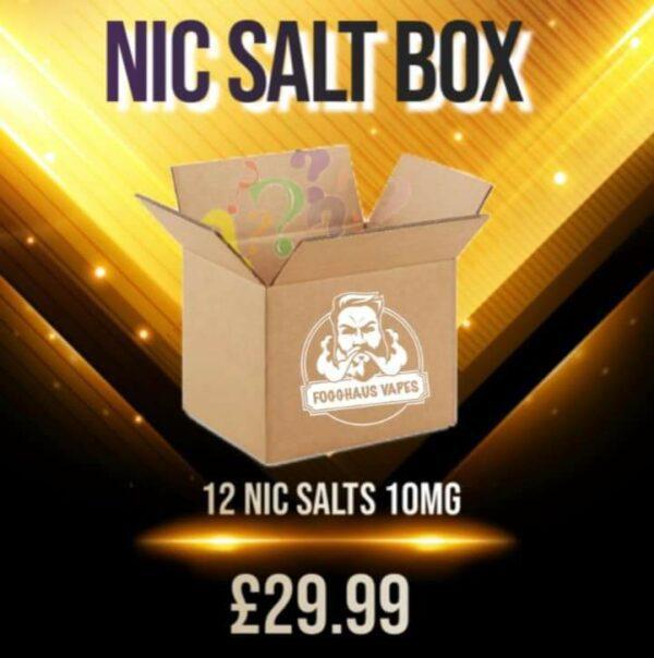 Mystery Box 3- 12x Nic Salts Box