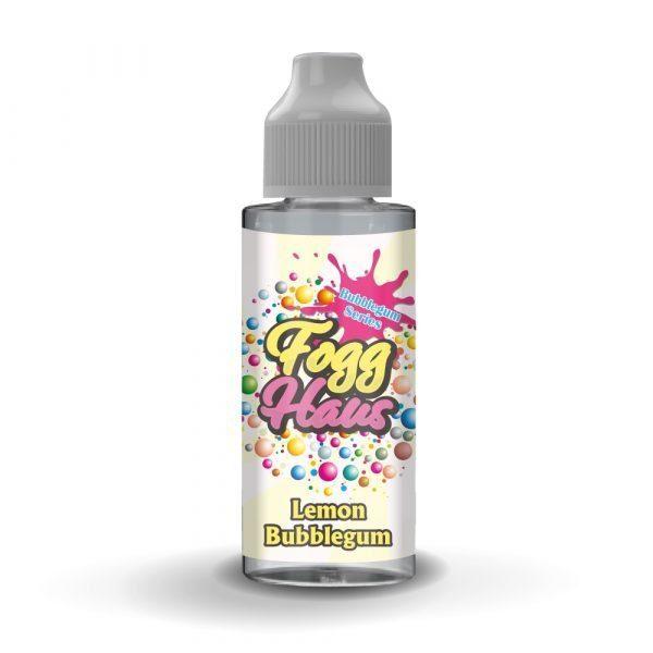 FoggHaus Lemon Bubblegum 100ml Shortfill