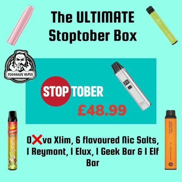 Oxva Xlim Stoptober Box